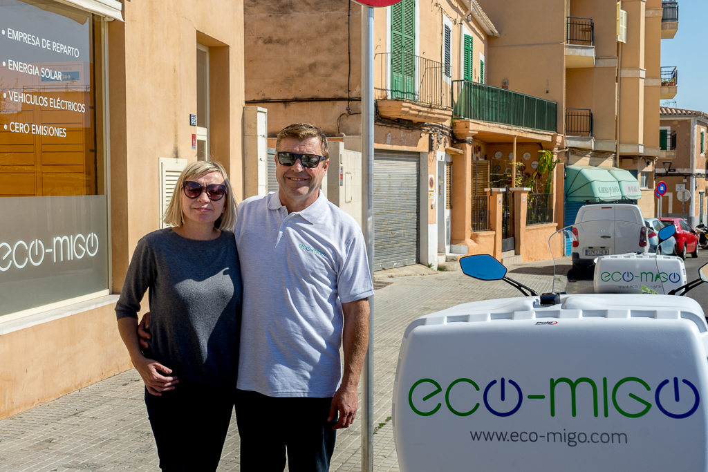 your courier in Mallorca